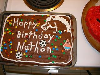 Dennis Birthday Cake