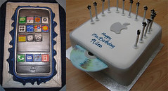 iPhone Birthday Cake | by methodshop.com