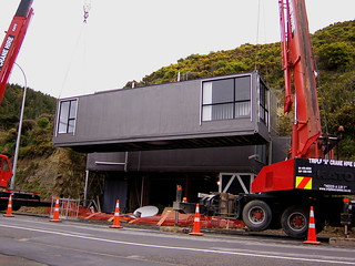 Shipping Container house Wellington New Zealand | by petraalsbach
