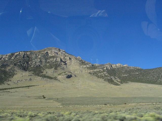 Dutch John Mountain  U S  Route 93 North Of Pioche  Nevada