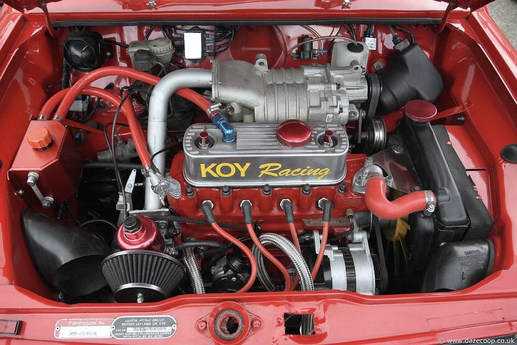 Bmw Supercharger On Mini Engine David Cooper Flickr