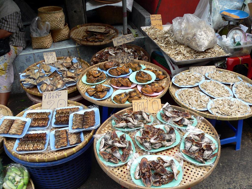 Seafood, Nonthaburi Market, Bangkok, Thailand  Nonthaburi m…  Flickr