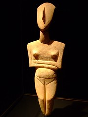 Pregnant Female Figure Early Cycladic 2700-2300 BCE Marble | by mharrsch