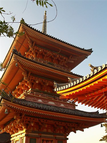 Kiyomizu Temple 794 rebuilt 1633 due to many fires. One 21 finalist campaign select New 7 wonders world. Kyoto | by catch it in seattle