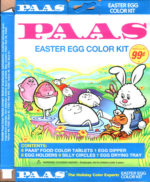 Paas Easter Egg Dye 2007 Version Of Paas Color Kit Groovy Flickr