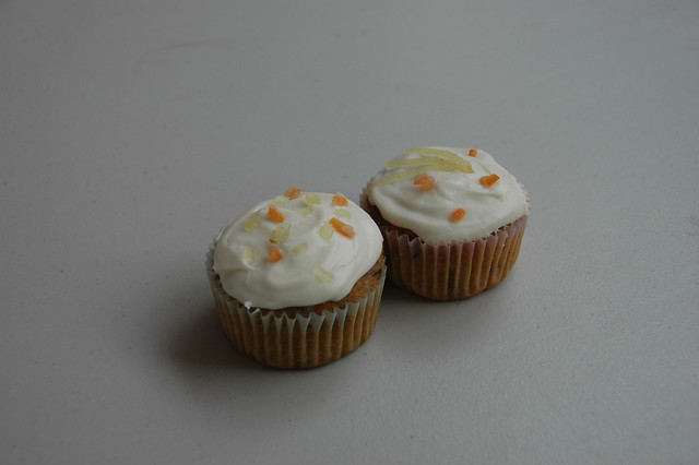 Carrot Ginger Cupcakes