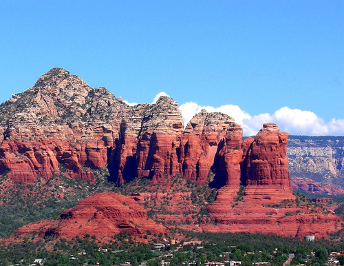 Sedona Arizona - Coffee Pot Rock from Airport Mesa | by Al_HikesAZ
