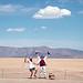 1st Trash Fence, Burning Man, 1996