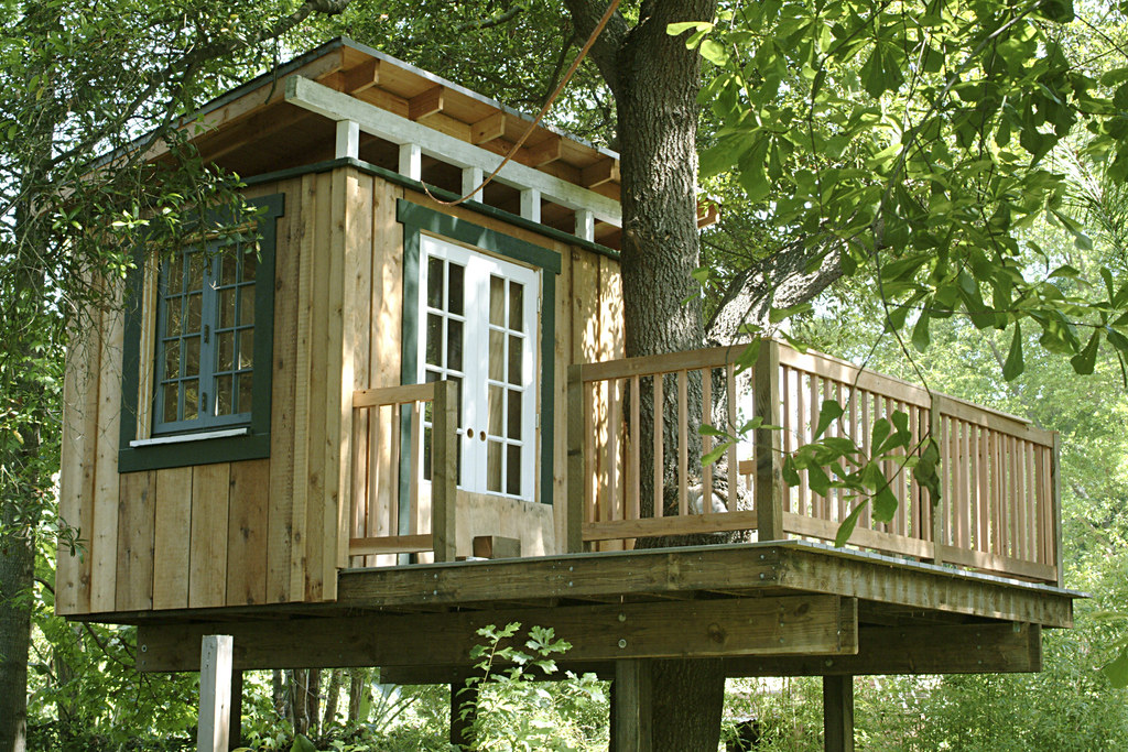 Treehouse Railing I Finally Found The Time To Put The