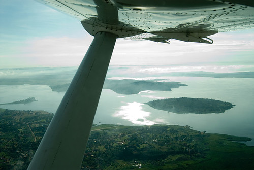 Lake Victoria from air | by sanjoyg