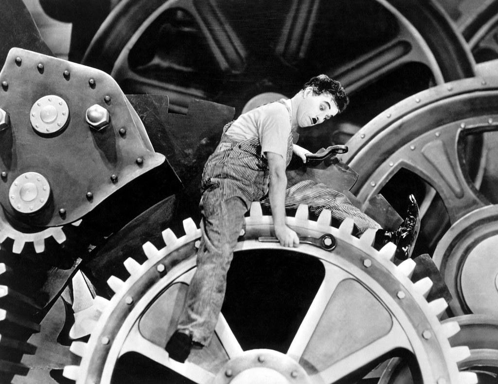 Opinião: Tempos modernos (Charles Chaplin) | No início do ci… | Flickr