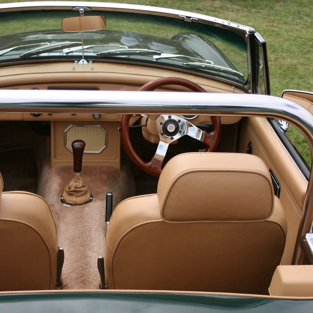 classic british car all leather interior shot at 2007 all flickr. Black Bedroom Furniture Sets. Home Design Ideas