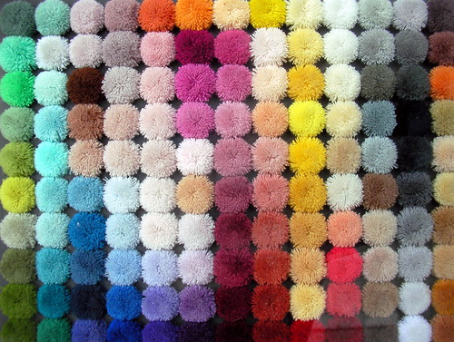 Carpet Colour Samples Seen In The Window Of An Interior