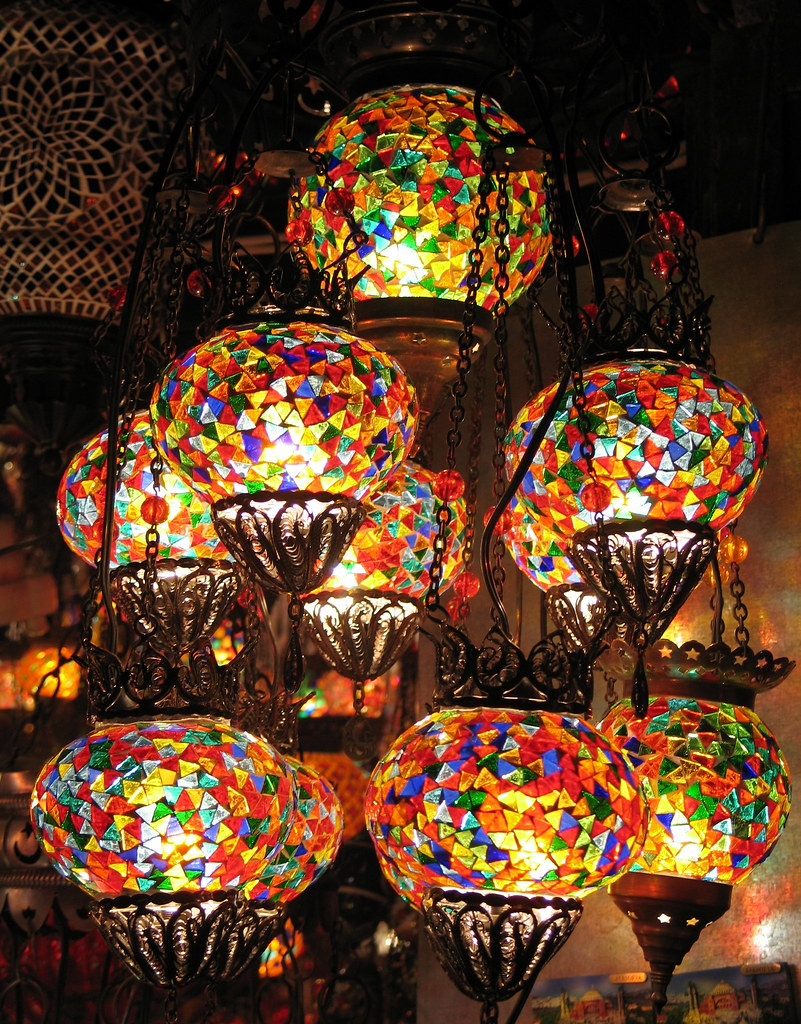 Turkish Glass Mosaic Lanterns Istanbul These Beautiful