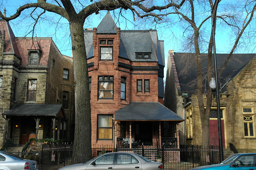 Lincoln Park Chicago Beautiful Homes Fullerton Avenue Wint