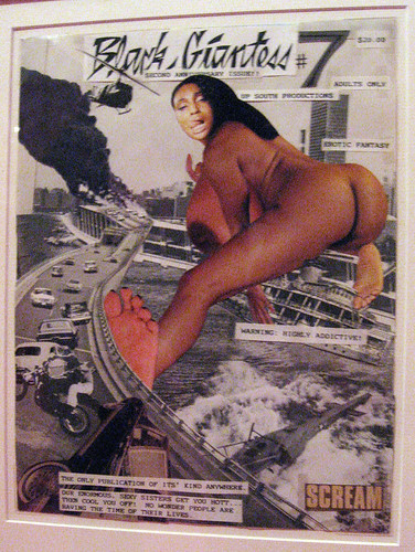 black giantess 7 the only publication of its kind anywh