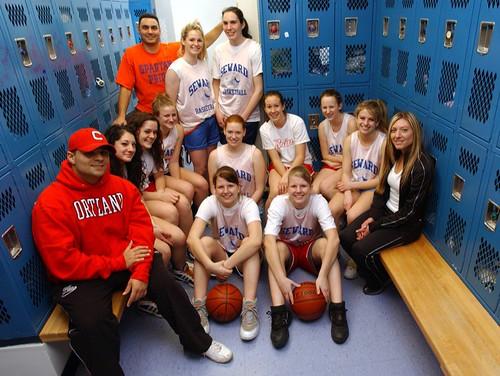Lighting A High School Locker Room For Girls Basketball T
