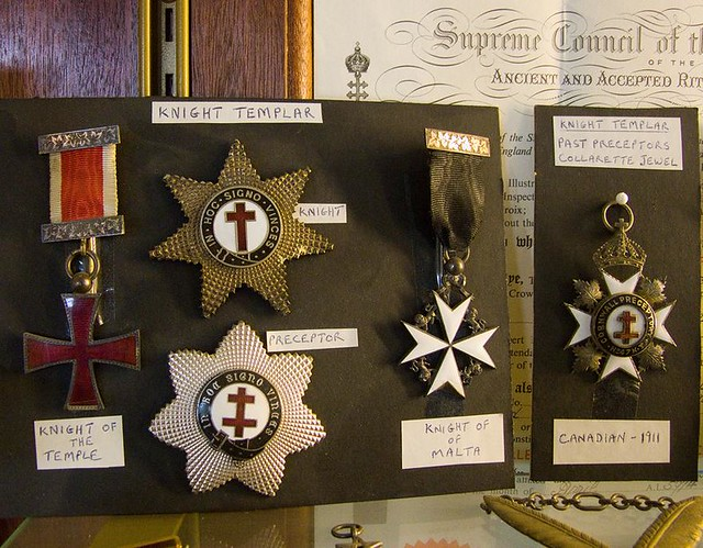 Knight Templar Masonic medals and insignia   In an ...