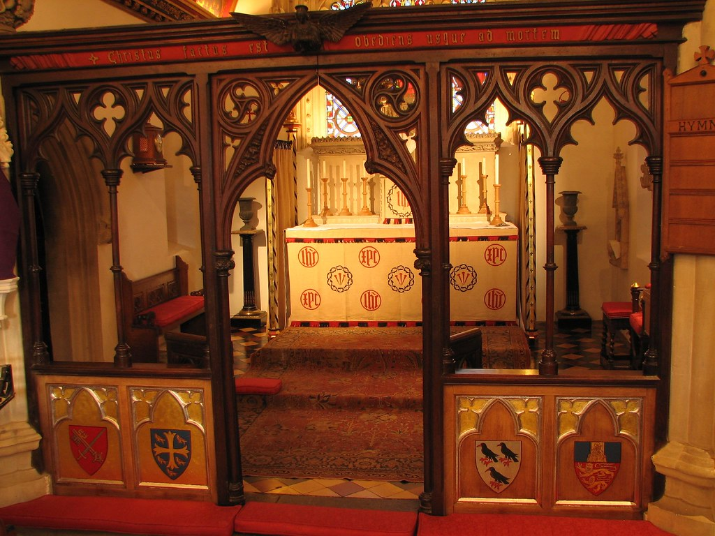 Rood Screen The Rood Screen At St Birinus Is Still A