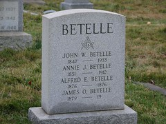 Betelle Family Gravestone | by swein515