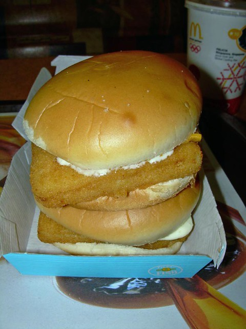 Double filet o fish mcdonald 39 s 846 state rt 17 ramsey for Filet of fish