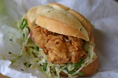 Bakesale Betty - delicious fried chicken sandwich!! | by pengrin™
