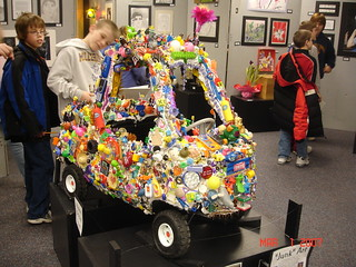 art car at district art show | by sharna11