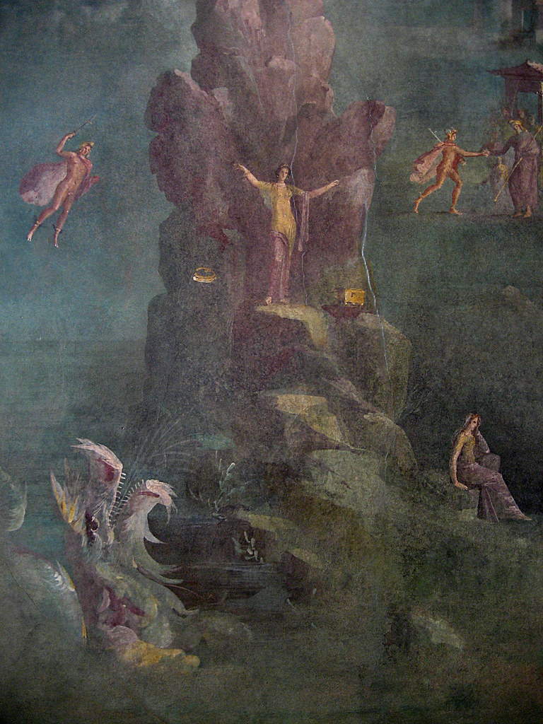 Landscape With Perseus And Andromeda From The Quot Mythologic