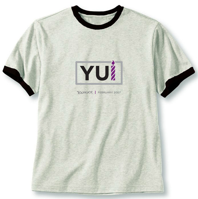 YUI Librarys 1st Birthday Party T Shirt