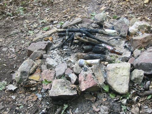 20030920 Camping 100 0092 Dead Fire Dead Fire Pit