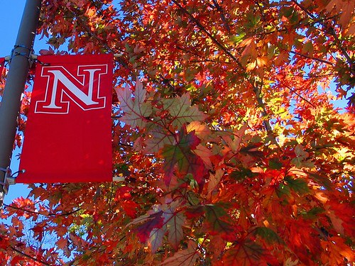 University Of Nebraska Lincoln Fall Colors At The