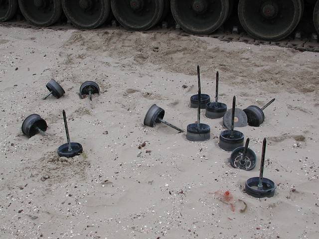 Spent 120 mm APFSDS-T-TP ammun...
