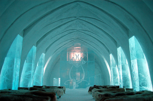Ice Hotel Church @ Jukkasjärvi