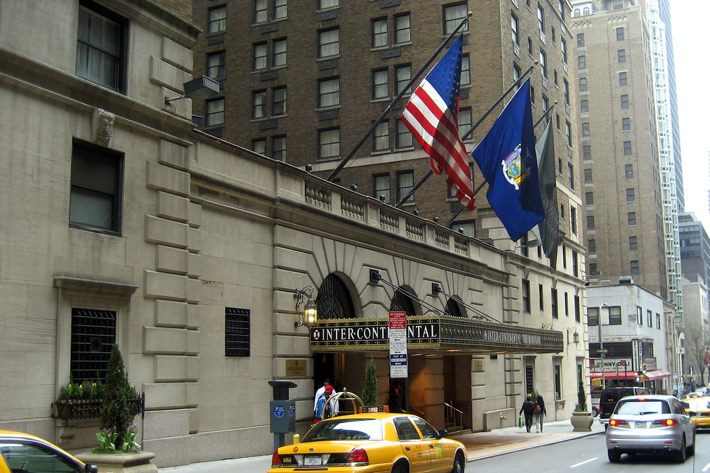 Nyc Intercontinental Barclay Hotel The