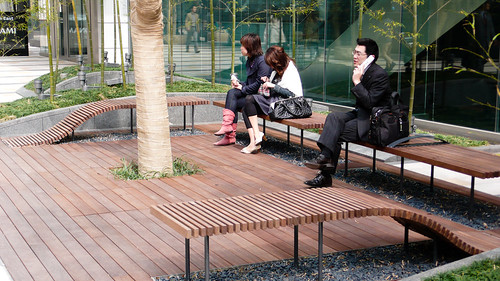 Benches, Tokyo Midtown | by cityofsound