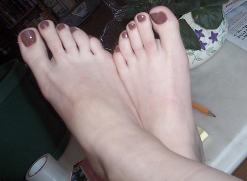 Pretty Toes  April 20, 2007 A Pedicure In Celebration Of -7032