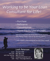 Leah Loan Ad | by Joe Crawford (artlung)