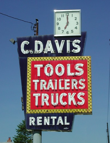 C. Davis Rental Sign | by pixeljones
