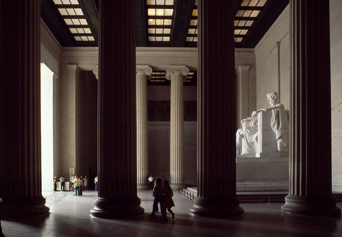 Lincoln Memorial Interior 1977 2 | by smata2