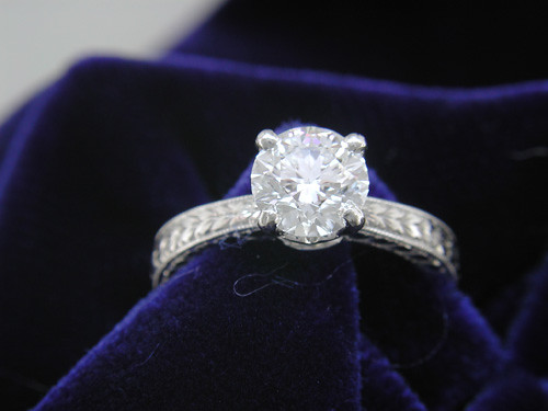 ring | First engagement ring. | astrocoz