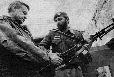 Osama Bin Laden and Zbigniew Brzezinski | by David Ian Wilson