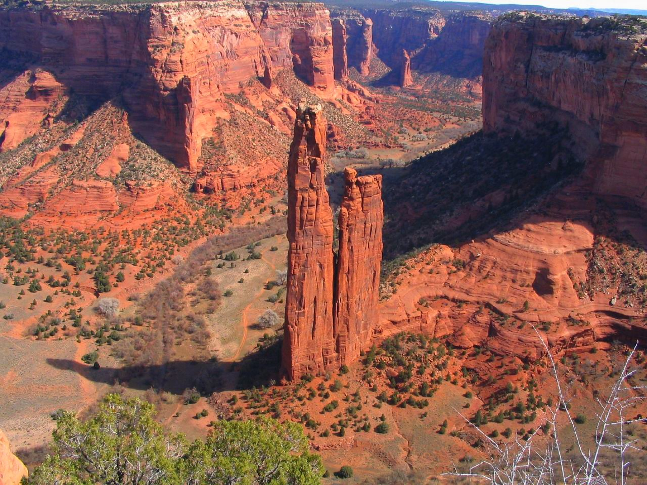 Spider Rock, Canyon de Chelly National Monument, Navajo Nation, Arizona