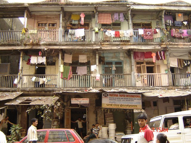 Mumbai Bombay Chawl One Of The More Authentic Photos