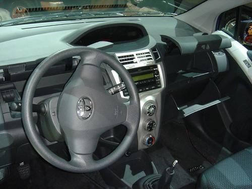 2007 toyota yaris interior replacing the echo in toyota for Interieur yaris 2007