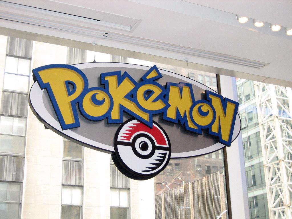 Pokã©mon Type Chart: Pokemon Sign   Pokemon sign at the Nintendo World Store.   Kate ,Chart