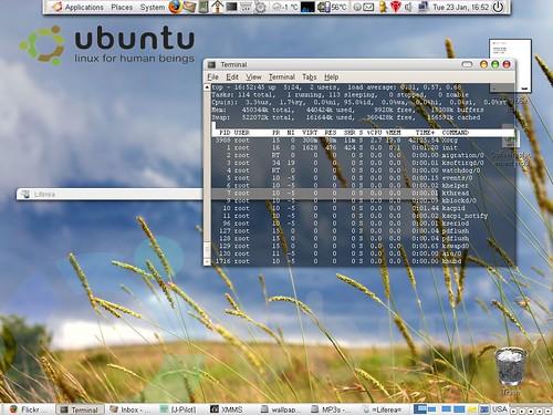 terminal transparan pada ubuntu 14.04