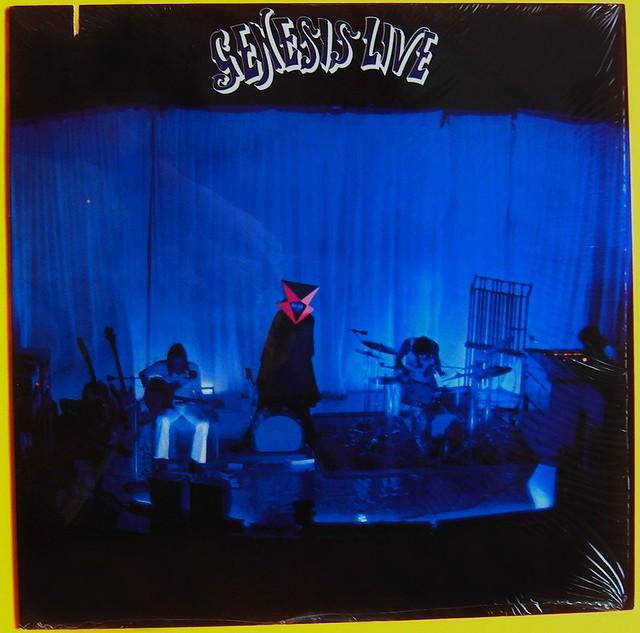 Genesis Live Artist Genesis Title Genesis Live Label