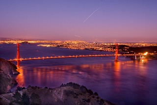 Golden Gate Bridge from Hawk Hill | by Harold Davis