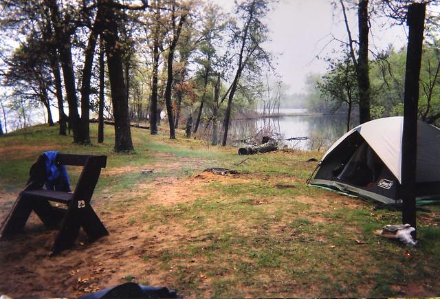 Camping Near A Beach In Uk