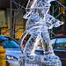 Firefighter Ice Sculpture